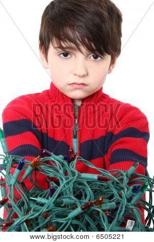 Tangled Christmas Lights