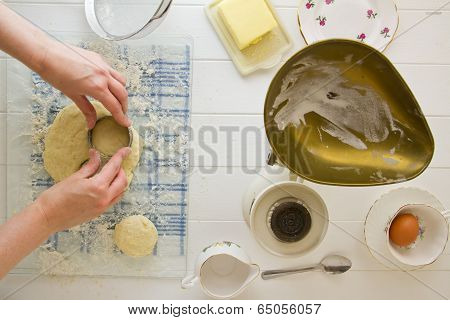 Cutting Out Scones