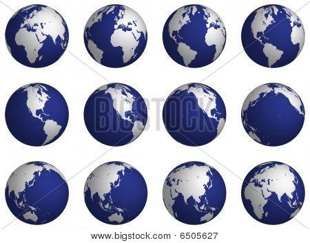 Rotate globe