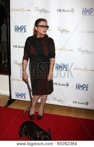 LOS ANGELES - MAY 14:  Carrie Fisher at the