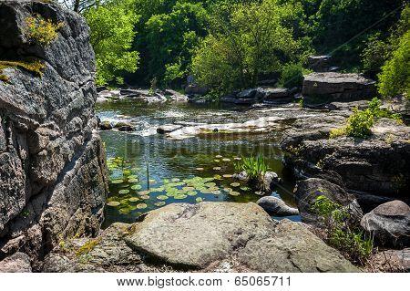 Landscape Of Ukrainian Canyon In Buki