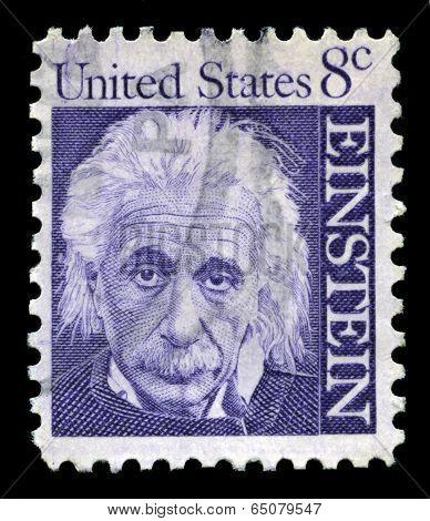 Albert Einstein Us Postage Stamp