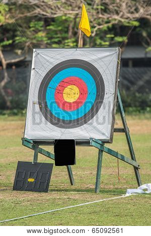 One Archery Target