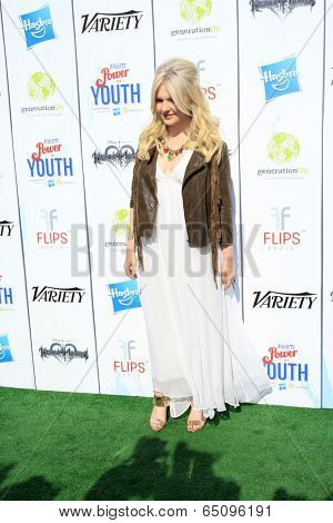 LOS ANGELES - JUL 27:  Abigail Breslin at the Variety's Power of Youth  at Universal Studios Backlot on July 27, 2013 in Los Angeles, CA