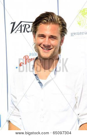 LOS ANGELES - JUL 27:  Luke Benward at the Variety's Power of Youth  at Universal Studios Backlot on July 27, 2013 in Los Angeles, CA