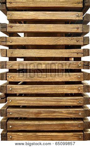 stackable wood