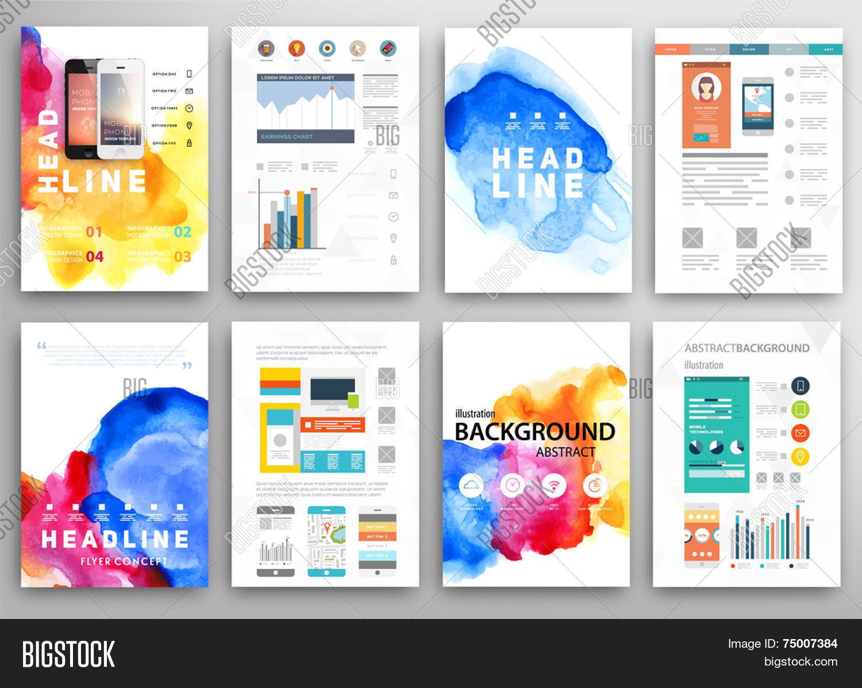 set vector poster vector photo free trial bigstock
