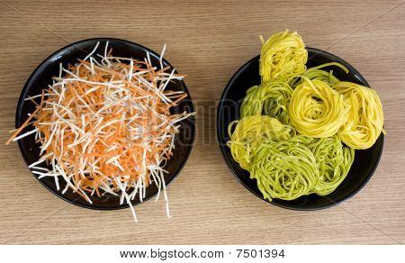 Pasta Vs Salad