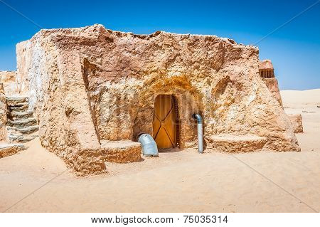 Nefta,Tunisia,August 15,2013: Where The Movies Star Wars