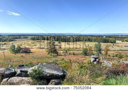 Little Round Top, Gettysburg, Pa