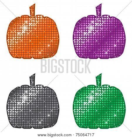 Glittering Pumpkins