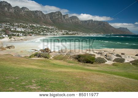 Beautiful View Of Camps Bay  Cape Town South Africa