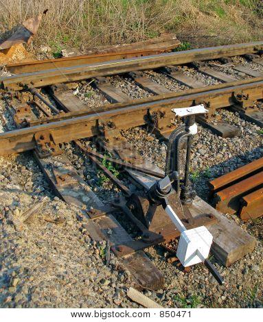 Railway point