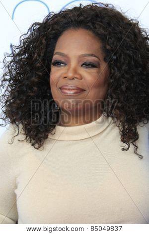 SANTA MONICA - FEB 21: Oprah Winfrey, David Oyelowo at the 2015 Film Independent Spirit Awards on February 21, 2015 in Santa Monica, California