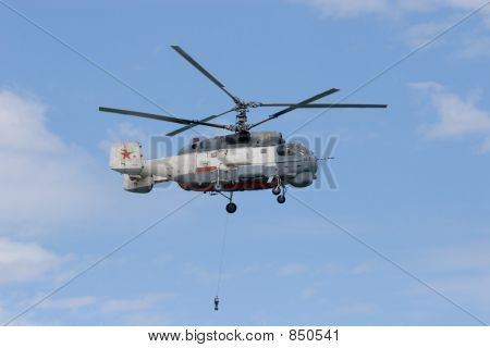 KA-32 in sky
