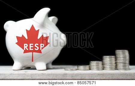 Canadian Registered Education Savings Plan Concept