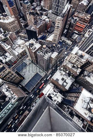 City buildings in New York