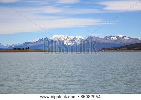 View of Argentino lake and Glaciers National park