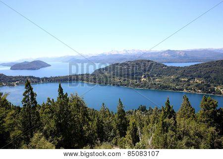 View of Nahuel Huapi lake- Argentina