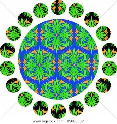 Printed circle