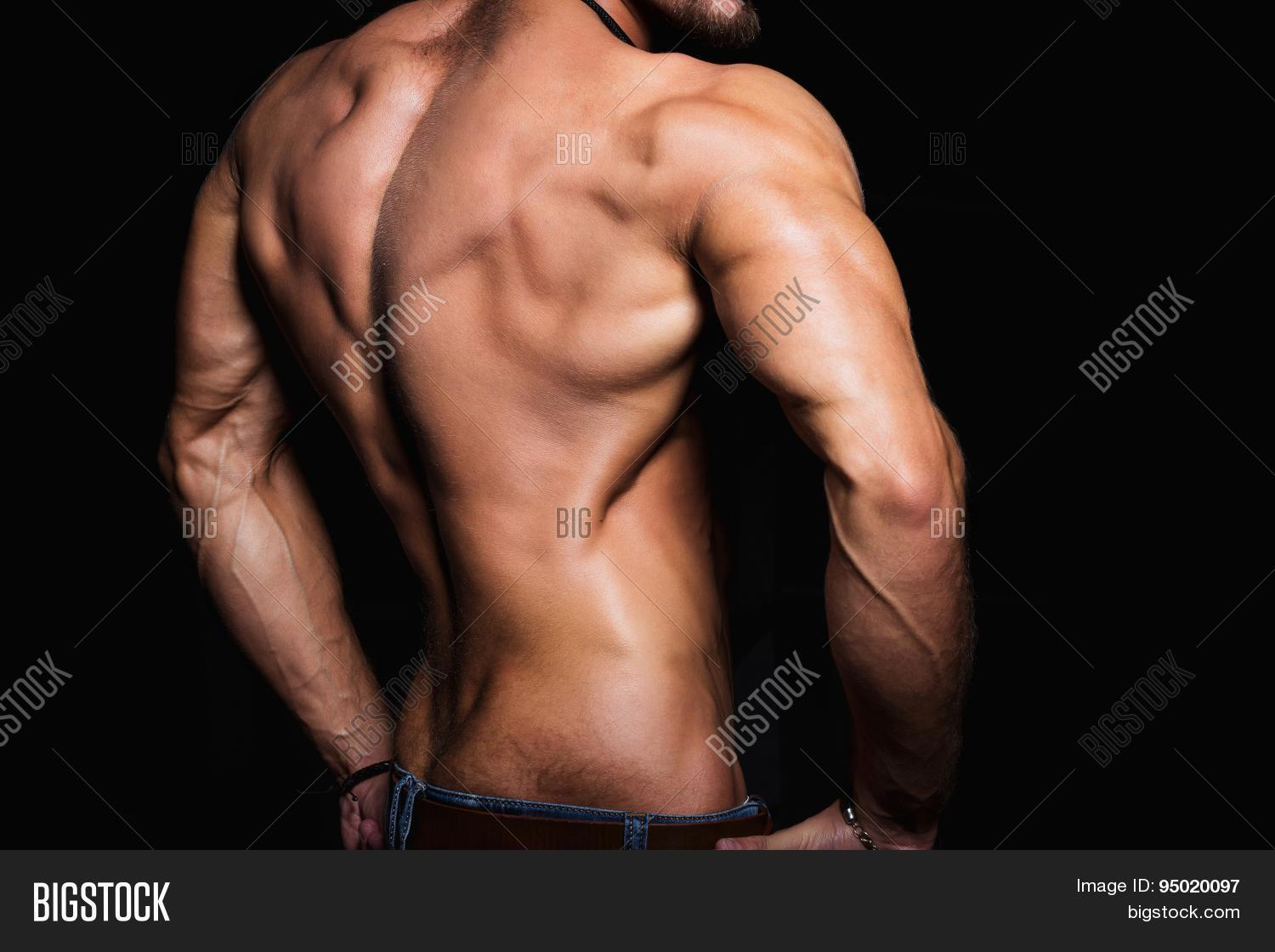 Muscular Back Sexy Image Photo Free Trial Bigstock