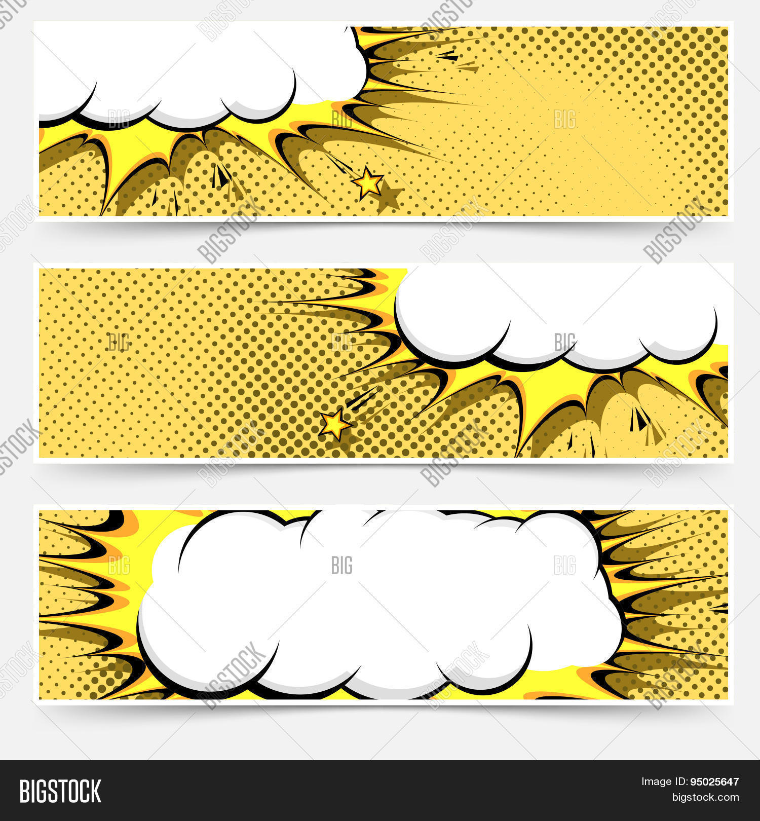 Free Comic Book Day Flyer: Pop-art Comic Book Vector & Photo (Free Trial)