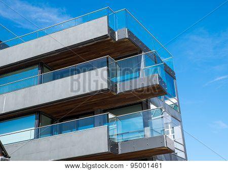 Modern building in Berlin