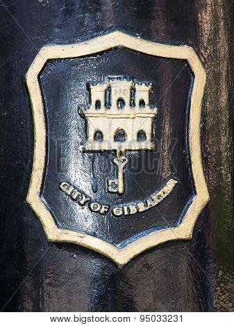 Mail Symbol In Gibraltar (uk)