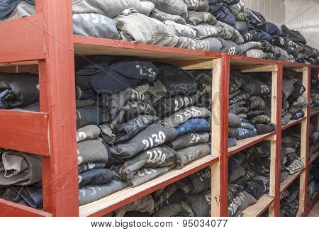 Storage Of Overalls After Washing In A Coal Mine