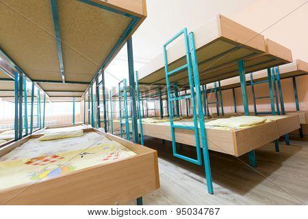 Kindergarten Bedroom With Small Beds
