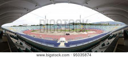 Bulgarian National Stadium Panorama