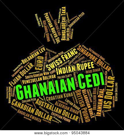 Ghanaian Cedi Indicates Forex Trading And Currency
