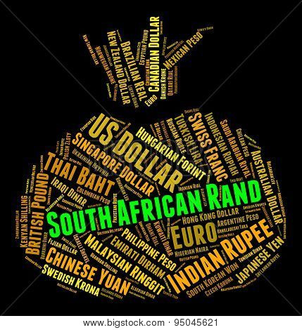 South African Rand Means Forex Trading And Exchange