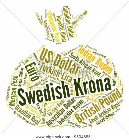 Swedish Krona Indicates Forex Trading And Coinage