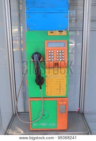 Public pay phone Bangkok Thailand