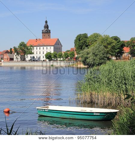 The City Island Of Havelberg With St. Lawrence's Church