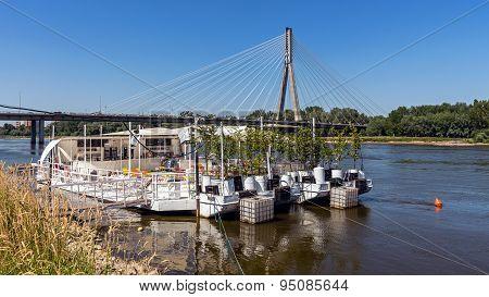The Swietokrzyski Bridge
