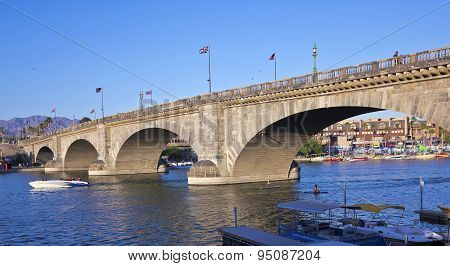An Early Evening London Bridge Shot, Lake Havasu City