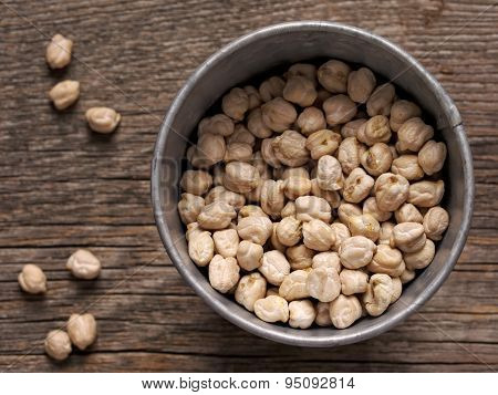 Rustic Dried Chickpea Garbanzo Bean