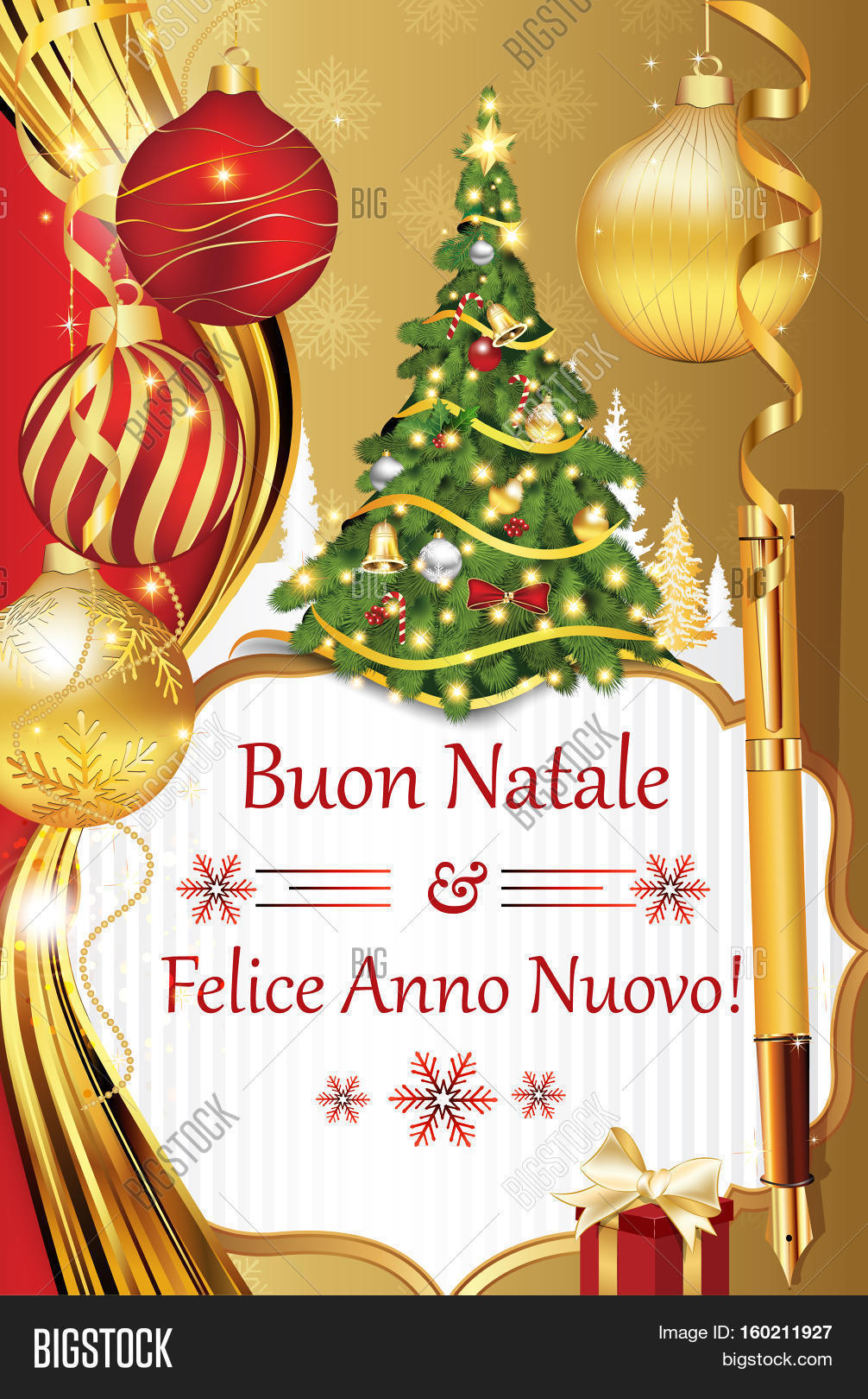 Buon natale e felice image photo free trial bigstock buon natale e felice anno nuovo new year wishes in italian language merry m4hsunfo