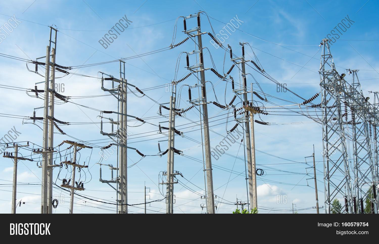 Electric Pole : Image & Photo (Free Trial) | Bigstock