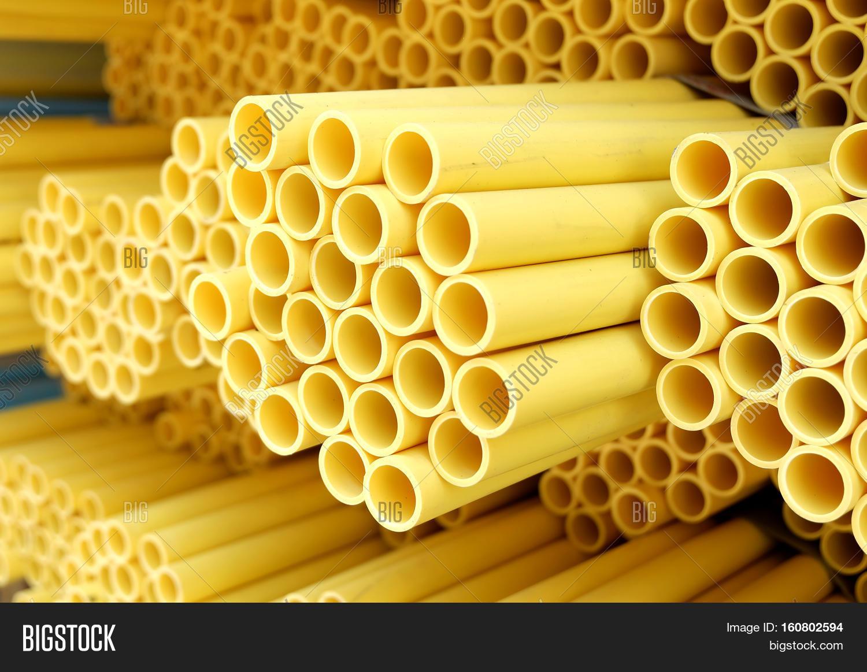 PVC pipe yellowPVC pipes for drinking water.  sc 1 st  Bigstock & PVC Pipe YellowPVC Image u0026 Photo (Free Trial) | Bigstock