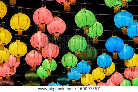 Chinese lantern (decoration for Chinese New Year Festival)