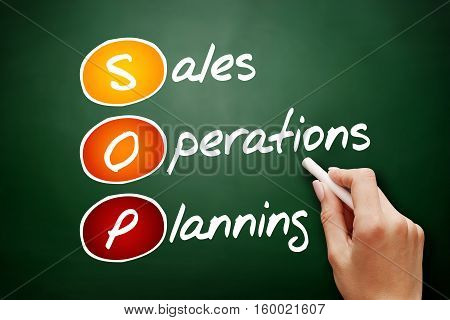 Sales And Operations Planning, Acronym