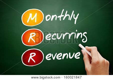 Hand Drawn Mrr - Monthly Recurring Revenue