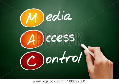 Hand Drawn Mac Media Access Control