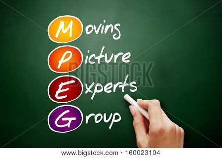 Mpeg Moving Picture Experts Group