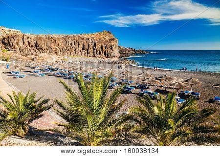 Beach In A Small Village Callao Salvaje