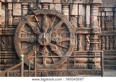 The Konark Sun Temple India near Bengal