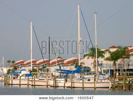 Condo And Sailboats